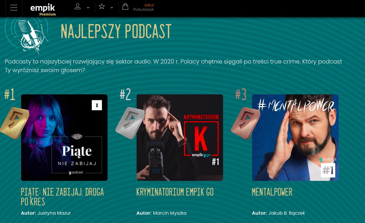 #MentalPower w3. najlepszych podcastów roku wEMPIK!!!